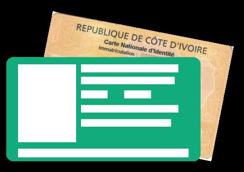 Carte nationale d'identité côte d'ivoire